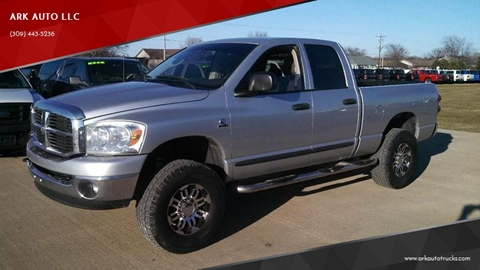 2007 Dodge Ram Pickup 2500 for sale at ARK AUTO LLC in Roanoke IL