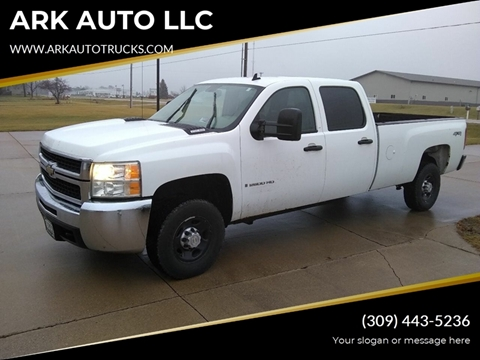 2008 Chevrolet Silverado 2500HD for sale at ARK AUTO LLC in Roanoke IL