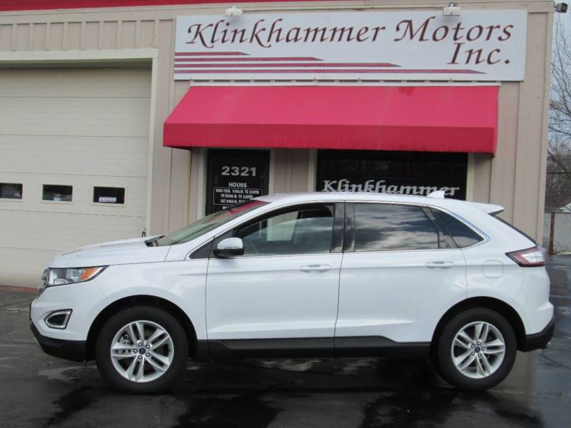 Ford Edge Awd Sel Dr Crossover Racine Wi