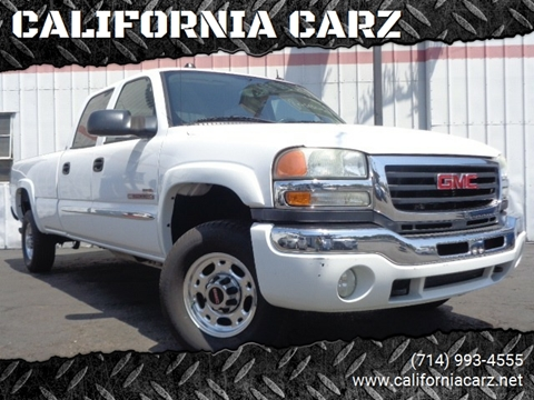 2004 GMC Sierra 2500HD for sale in Santa Ana, CA