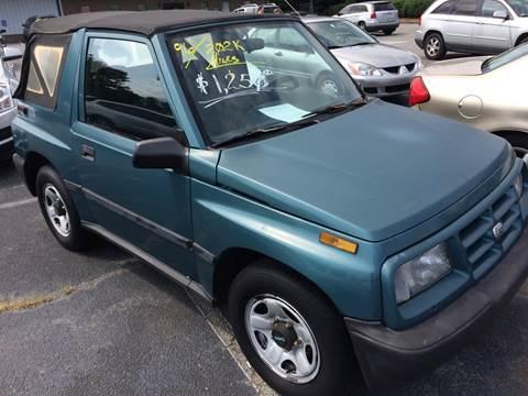 1996 GEO Tracker for sale in Greenville, SC