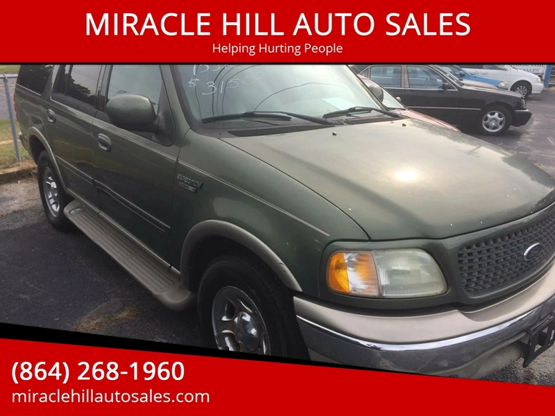 Ford Expedition Edbauer Wd Dr Suv Greenville Sc