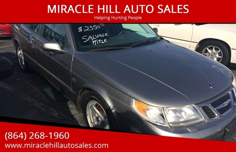 2003 Saab 9-5 for sale in Greenville, SC
