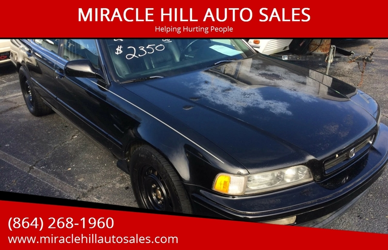 1994 acura legend gs 4dr sedan in greenville sc - miracle hill auto