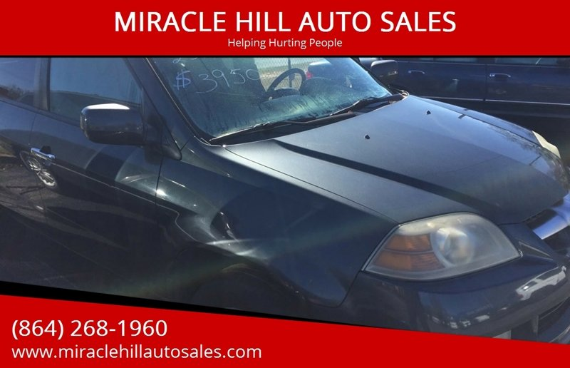 2006 Acura Mdx Awd Touring 4dr Suv W Navi In Greenville Sc Miracle