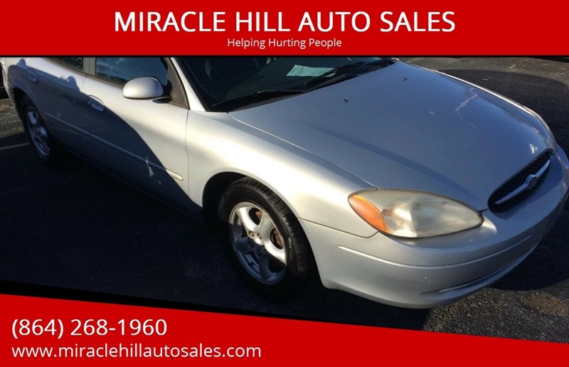 2001 Ford Taurus Se 4dr Sedan In Greenville Sc Miracle Hill Auto Sales