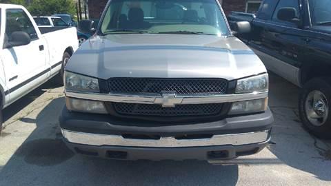 2003 Chevrolet Silverado 1500 for sale in Lenoir City, TN