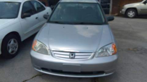 2002 Honda Civic for sale in Lenoir City TN