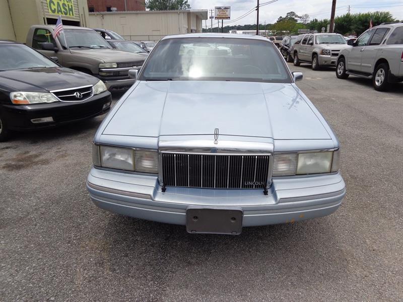 1992 Lincoln Town Car Executive 4dr Sedan - Milton FL