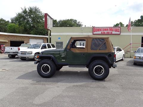 1997 Jeep Wrangler for sale in Milton, FL