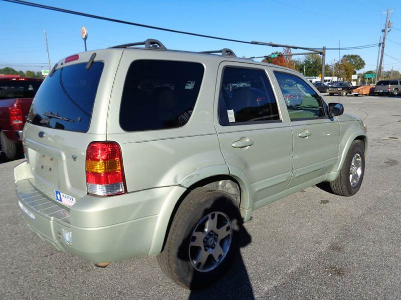 2005 Ford Escape Awd Limited 4dr Suv In Milton Fl