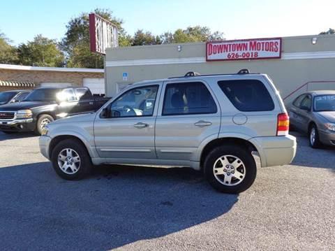 2005 Ford Escape for sale at DERIK HARE in Milton FL