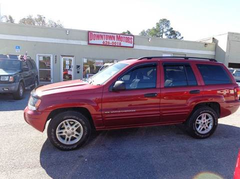 2004 Jeep Grand Cherokee for sale at DERIK HARE in Milton FL
