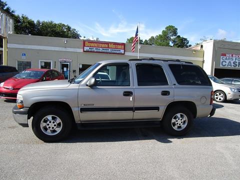 2001 Chevrolet Tahoe for sale in Milton, FL
