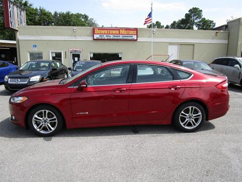 2015 Ford Fusion Hybrid for sale in Milton, FL