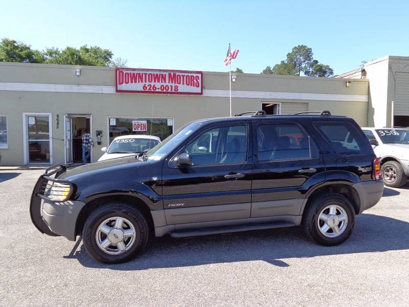 2001 Ford Escape Xls 4wd 4dr Suv In Milton Fl Downtown
