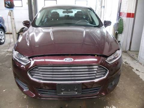 2013 Ford Fusion for sale in Bonduel, WI