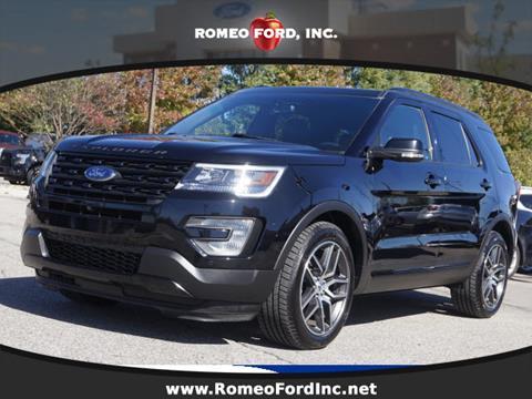 2016 Ford Explorer for sale in Washington, MI