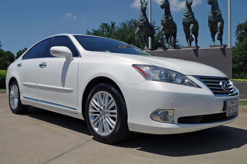 2010 Lexus ES 350 for sale at European Motor Cars LTD in Fort Worth TX