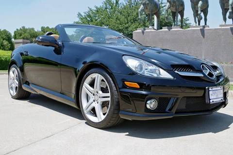 2011 Mercedes-Benz SLK for sale at European Motor Cars LTD in Fort Worth TX