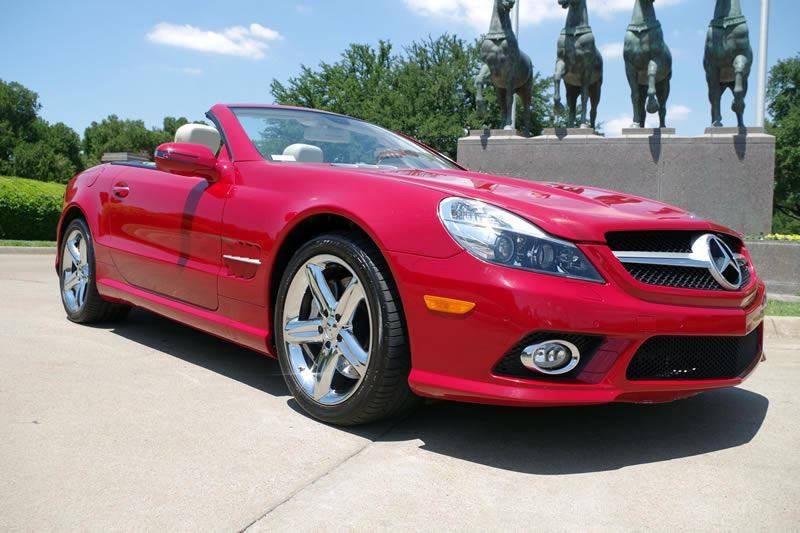 2009 Mercedes-Benz SL-Class for sale at European Motor Cars LTD in Fort Worth TX