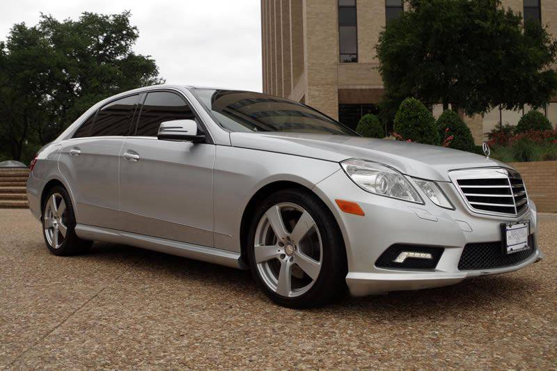 2010 Mercedes-Benz E-Class for sale at European Motor Cars LTD in Fort Worth TX