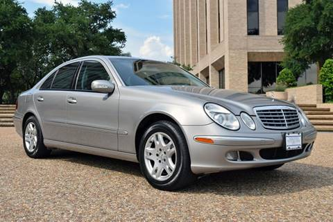 2006 Mercedes-Benz E-Class for sale at European Motor Cars LTD in Fort Worth TX