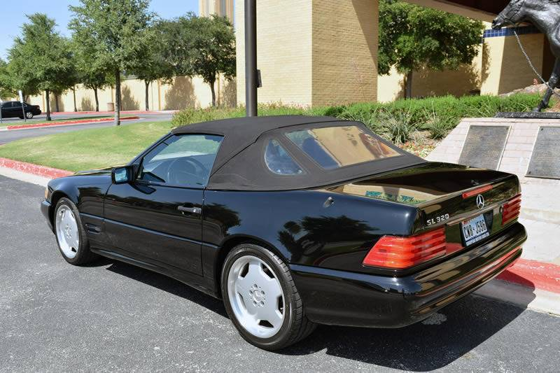 1996 Mercedes-Benz SL-Class for sale at European Motor Cars LTD in Fort Worth TX