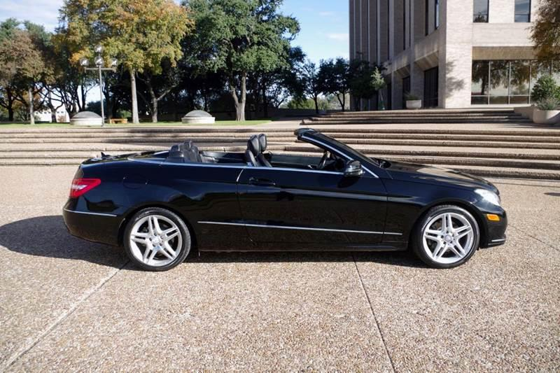 2011 Mercedes-Benz E-Class for sale at European Motor Cars LTD in Fort Worth TX