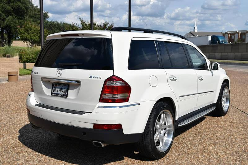 2009 Mercedes-Benz GL-Class for sale at European Motor Cars LTD in Fort Worth TX
