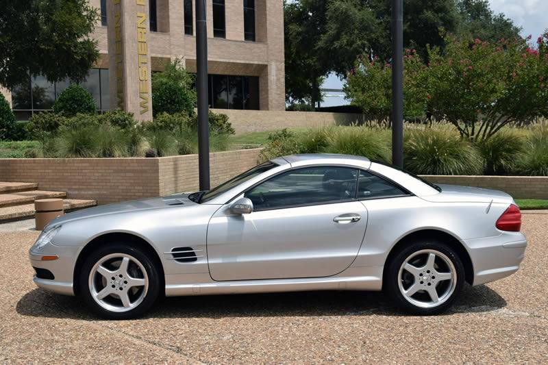 2003 Mercedes-Benz SL-Class for sale at European Motor Cars LTD in Fort Worth TX