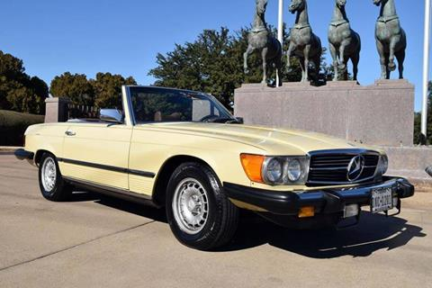 1979 Mercedes-Benz 450 SL for sale in Fort Worth, TX