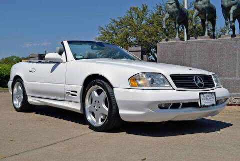 2000 Mercedes-Benz SL-Class for sale at European Motor Cars LTD in Fort Worth TX