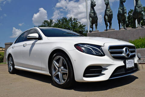 2017 Mercedes-Benz E-Class for sale at European Motor Cars LTD in Fort Worth TX