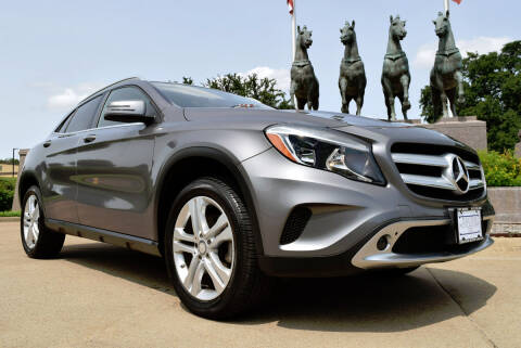 2017 Mercedes-Benz GLA for sale at European Motor Cars LTD in Fort Worth TX