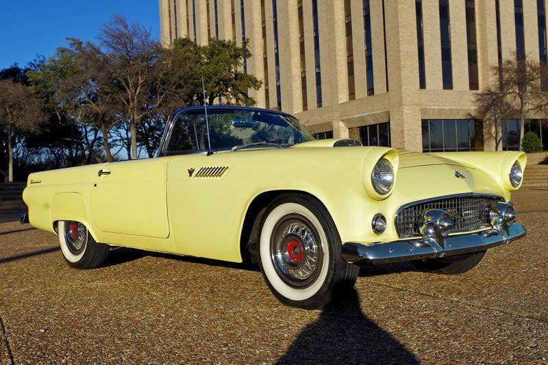 1955 Ford Thunderbird for sale at European Motor Cars LTD in Fort Worth TX