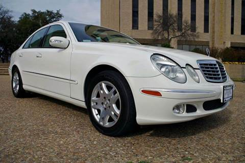 2003 Mercedes-Benz E-Class for sale at European Motor Cars LTD in Fort Worth TX