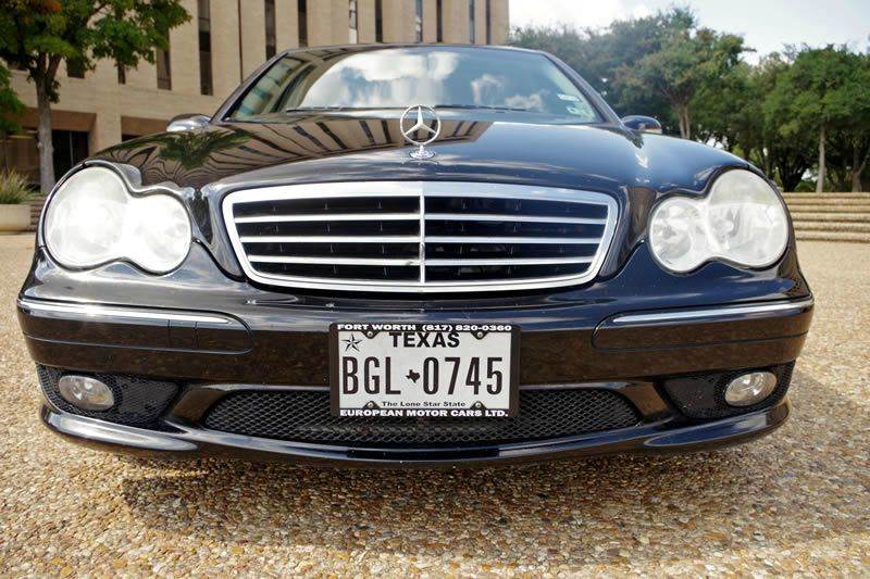 2007 Mercedes-Benz C-Class for sale at European Motor Cars LTD in Fort Worth TX