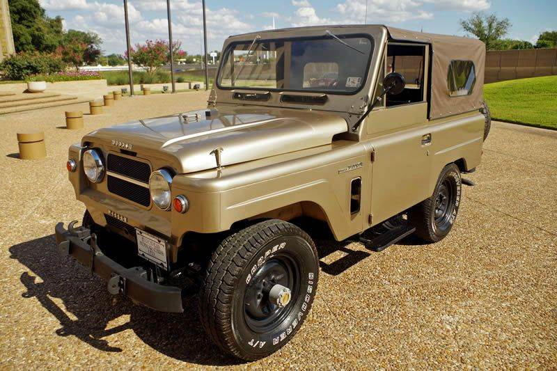 1969 Nissan Patrol for sale at European Motor Cars LTD in Fort Worth TX