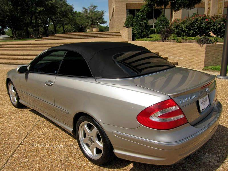 2005 Mercedes-Benz CLK-Class for sale at European Motor Cars LTD in Fort Worth TX