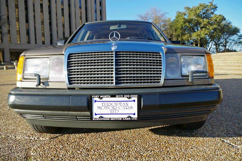 1987 Mercedes-Benz 300-Class for sale at European Motor Cars LTD in Fort Worth TX