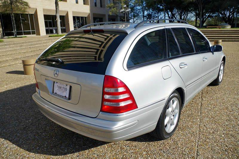 2002 Mercedes-Benz C-Class for sale at European Motor Cars LTD in Fort Worth TX