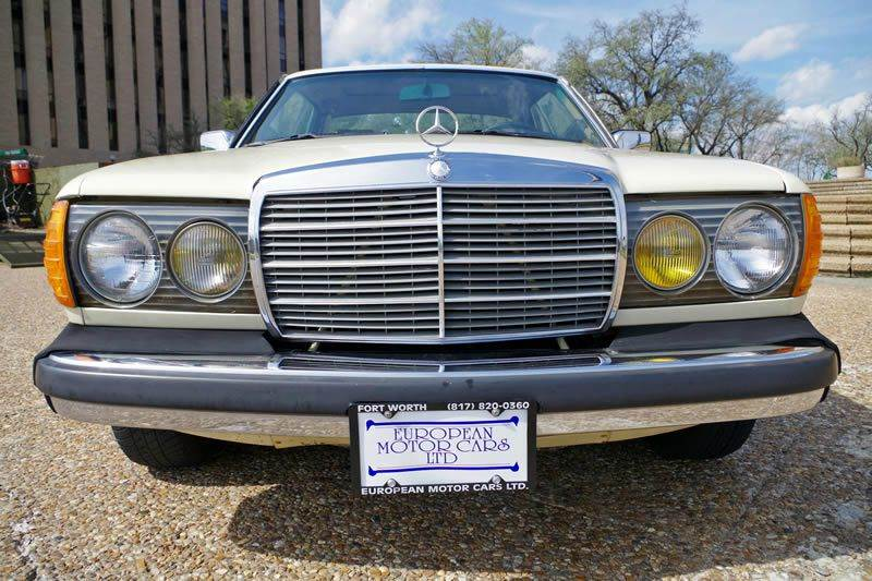 1985 Mercedes-Benz 300-Class for sale at European Motor Cars LTD in Fort Worth TX