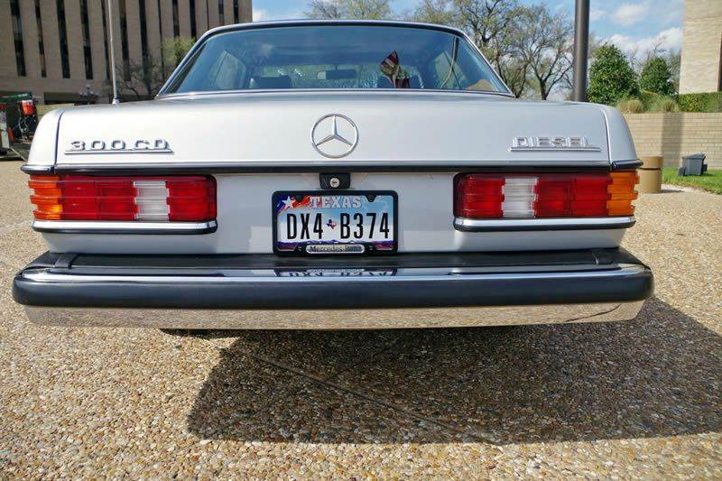1978 Mercedes-Benz 300-Class for sale at European Motor Cars LTD in Fort Worth TX