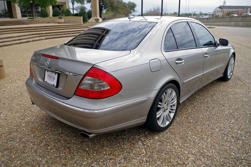 2008 Mercedes-Benz E-Class for sale at European Motor Cars LTD in Fort Worth TX