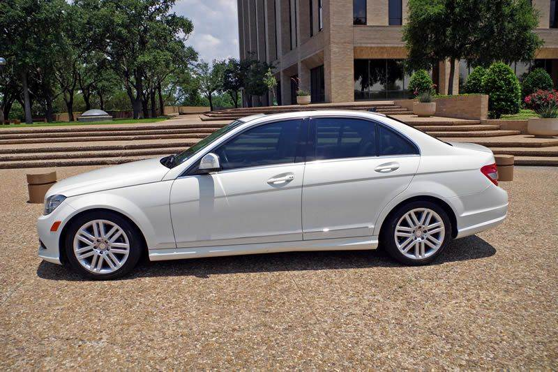 2009 Mercedes-Benz C-Class for sale at European Motor Cars LTD in Fort Worth TX
