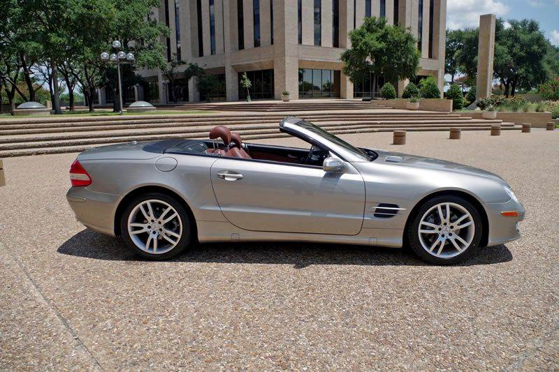 2007 Mercedes-Benz SL-Class for sale at European Motor Cars LTD in Fort Worth TX