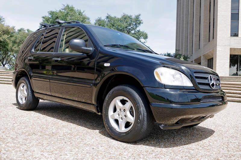 1998 Mercedes-Benz M-Class for sale at European Motor Cars LTD in Fort Worth TX