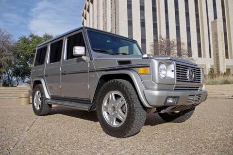 Mercedes G Suv For Sale