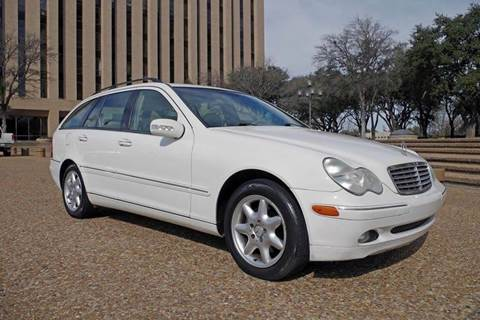 2003 Mercedes-Benz C-Class for sale at European Motor Cars LTD in Fort Worth TX
